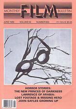 JOHN SAYLESMonthly Film BulletinJun1989