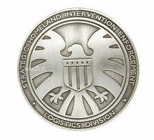 THE AVENGERS AGENTS OF SHIELD S.H.I.E.L.D. METAL BADGE FULL SIZE-35206