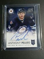 2013-14 ANTHONY PELUSO PANINI PRIME SIGNATURES RC AUTO 76/99