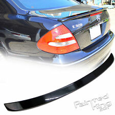 Mercedes Benz W211 E L-Type 02 06 08 Boot Trunk Spoiler 040 black Painted