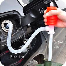 Neu Handpumpe Absaug Siphon Not Umfüll pumpe für Wasser Ölwechsel Auto Motorrad