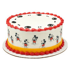 Mickey Mouse Edible Cake Border Decoration - Set of 3 Strips