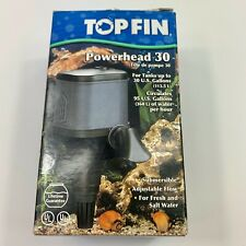Top Fin Powerhead 30 Submersible Air Pump Fresh Or Salt Water FREE Shipping