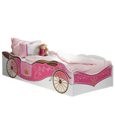 Kinderbett Zoe inkl Matratze pink Mädchen Kinderzimmer Jugendbett Prinzessinen