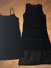 NEXT --ladies black dress---Size 10