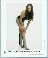 WWE STEPHANIE MCMAHON P-724 OFFICIAL LICENSED ORIGINAL 8X10 PROMO PHOTO RARE