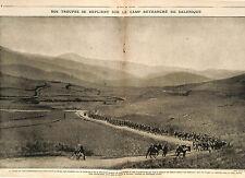 Corps Expéditionnaire Armée française d'Orient Poilus Salonique Kavadar 1918 WWI
