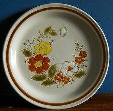 """A 10.5"""" Dinner plate in Trellis pattern from Mountain Wood collection"""