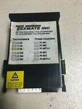 TEXMATE LT-50 5 DIGIT LED TACHOMETERS/ FREQUENCY METER