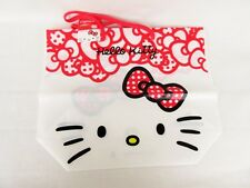 Kawai Sanrio Hello Kitty Plastic tote bag Brand New 270mm X225mm X110mm gusset