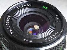TEFNON 28mm f2.8 wide angle prime lens - Minolta MD mount