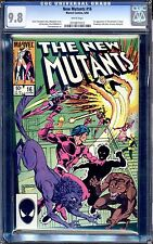 NEW MUTANTS #16 CGC 9.8 WHITE PAGES 1ST APPEARANCE OF THUNDERBIRD II