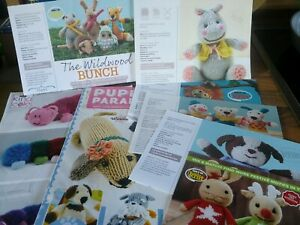 A collection of Toys knitting patterns
