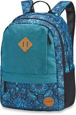 "Dakine BYRON 22L Womens 15"" Laptop Backpack Bag Blue Magnolia NEW 2018"
