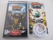 RATCHET & CLANK LA TAILLE CA COMPTE - SONY PSP - JEU PSP Platinum COMPLET