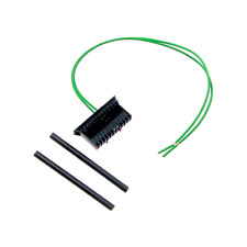 Repair KIt PPA Black Connector Plug Headlights (Fusebox) for Renault Megane II