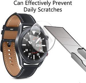 3X Pellicola Vetro Temperato Anti Schegge 9H per Samsung Galaxy Watch 3 (45mm)