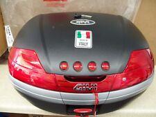 NOS Givi V46 Black Rear Top Luggage Case Lid Cover V46NA