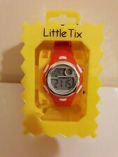 Little Tix digital red strap kids Watch boxed