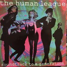 THE HUMAN LEAGUE • SOUNDTRACK To A Generation • Vinile 12 Mix • 1990 VIRGIN