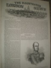 King William II of Netherlands Holland 1845 print ref AN