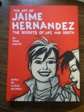 The Art of Jaime Hernandez: The Secrets of Life and Death signed HC + sketch