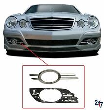 FRONT BUMPER FOG LIGHT GRILL FULL RIGHT O/S COMPATIBLE WITH MB E W211 2006-2009