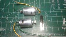 new complete tamiya clodbuster & bullhead motors motor with pinions lot