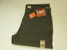 29 X 32 DOCKER 5 POCKET STRAIGHT FIT JEANS -OLIVE-- NWT
