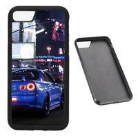 JDM Legend R34 RUBBER phone case Fits iPhone