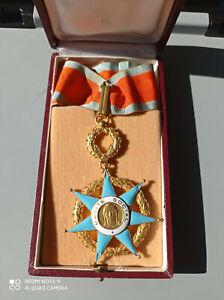 COMMANDEUR MEDAILLE ORDRE DU MERITE SOCIAL french medal