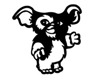 Gizmo Gremlins Decal Sticker Vinyl Yeti Car Decal Laptop Window Wall Other