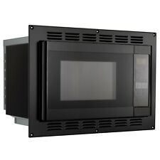 RecPro RV Convection Microwave Black 1.1 Cu. Ft 120V Microwave Appliances