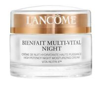 Lancome Bienfait Multi - Vital Night High Potency Moisturizing Cream 1.7oz NEW!