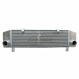 """CXRacing 2.5"""" Inlet&Outlet Turbo Intercooler 34x8x3.5 For Eclipse 1G Laser Talon"""