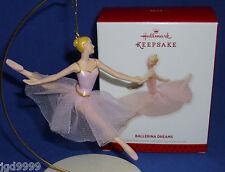 Hallmark Christmas Ornament Ballerina Dreams 2013 Ballet Dancer in Pink Tulle
