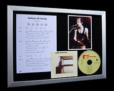 DIRE STRAITS Sultans Of Swing QUALITY CD MUSIC FRAMED DISPLAY+FAST GLOBAL SHIP