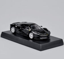 Kyosho La Ferrari Race Black Vehicles 1/64 Scale Miniature Display Sports Car