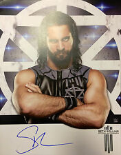 "Official WWE - Signed 11"" x 14"" Hand Signed Photo / Poster - Seth Rollins"