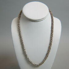 Fine Old Sterling Silver Necklace