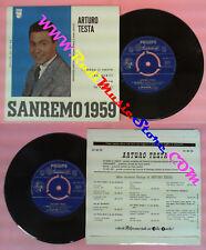 LP 45 7'' ARTURO TESTA Io sono il vento Conoscerti Piove Tu seu qui no cd mc dvd
