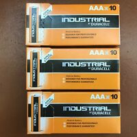 30 Duracell Industrial AAA Alkaline Batteries Procell MN1500 1.5V LR03 LONG EXP