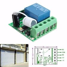 DC12V 10A 1 Canal Sans Fil Commutateur Relais RF Télécommande Récepteur 433MHZ