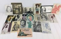 Vintage Arcade Mutoscope CARDS Postcards Lot Fay Wray Sara Shane Durbin Weaver