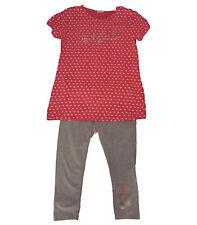 Conjuntos niña , leggings y camiseta de Losan, rosa ,talla 16