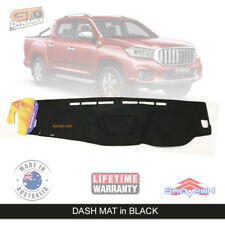 Dash mat for LDV T60 PRO LUXE SK8C Suits all models July/2017-2019 DM1493 Black