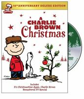 A Charlie Brown Christmas 50th Anniversary Deluxe Edition Region 4 DVD New