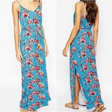 Vestiti da donna Blu Floreale Maxi