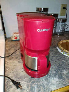 Cuisinart 4 cup coffee maker very nice condition!