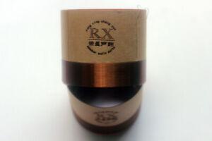 1 pcs ID: 51.8mm 8 ohm 2F woofer horn voice coil Bass speaker Black aluminous